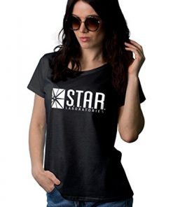 Womens Star Labs Black T-Shirt