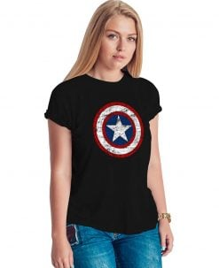 Captain America Shield T Shirt