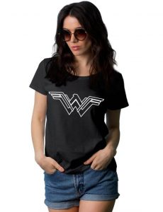 Wonder Woman Black Shirt