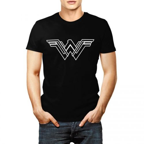 Black Wonder Woman Tee Shirt