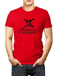 Red Pirates Of The Caribbean Shirt