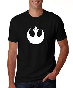 Rebel Star Wars Black T Shirt