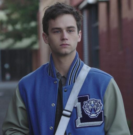 Brandon Flynn 13 Reasons Why letterman Jacket