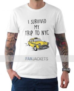 I Survived My Trip To Nyc t Shirt