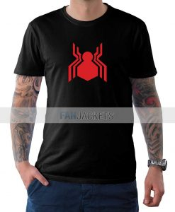 Spiderman Black T Shirt