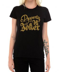 Harley Quinn Property of Joker Shirt