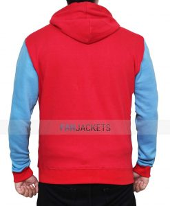 Spiderman Red Hoodie