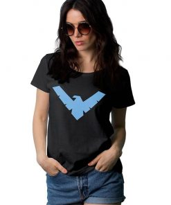 Womens Nightwing Logo Shirt