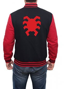 Spiderman Homecoming Letterman Jacket