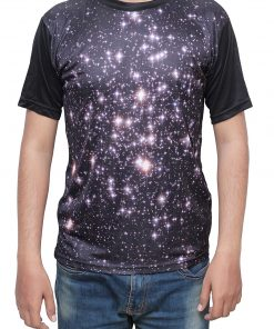 Printed Casual Galaxy T Shirt