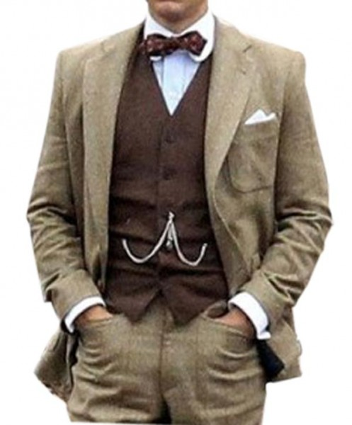 Nick Carraway The Great Gatsby BrownSuit