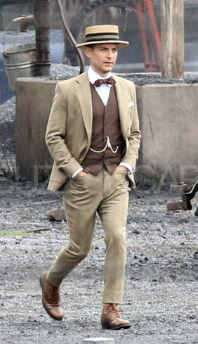 Nick Carraway Brown Suit