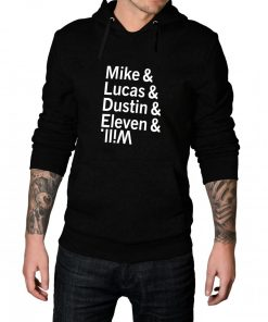 Mike Lucas Dustin Eleven Will Pullover Hoodie