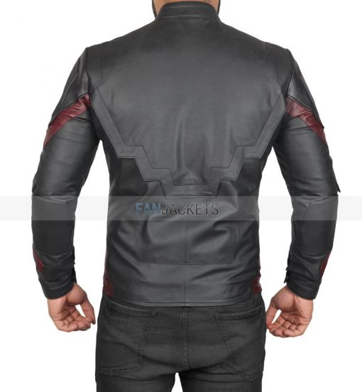 Avengers Infinity War Black Jacket