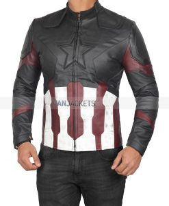 Captain America Motorcycle Jacket