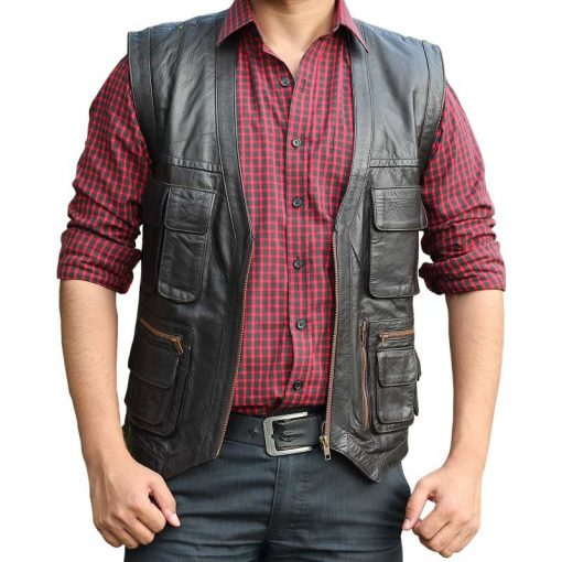 Chris Pratt Leather Vest