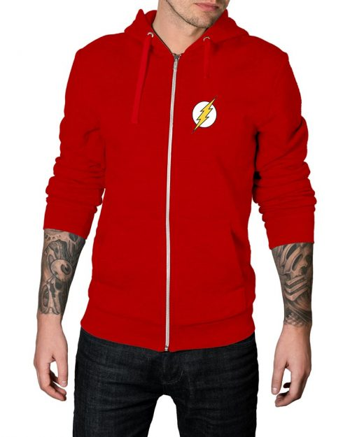 The Flash Zip Up Hoodie