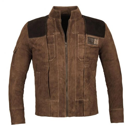 Han Solo Brown Distressed Jacket