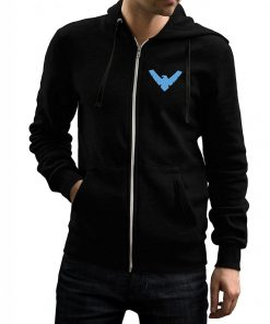 Nightwing Zip Up Hoodie