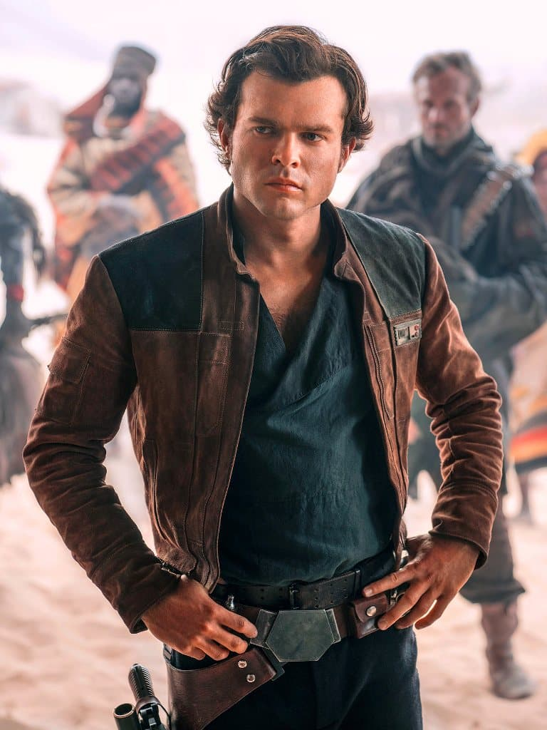 A Star Wars Story Han Solo Distressed Leather Jacket