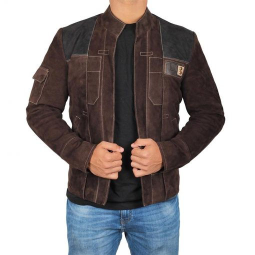 Solo A Star Wars Story Suede Jacket