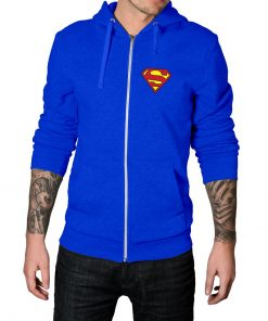 Superman Zip Up Hoodie