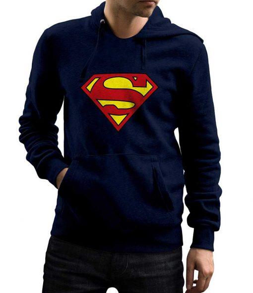 Superman Pullover Hoodie