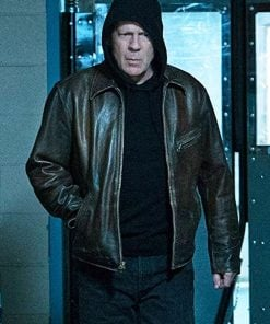 Bruce Willis Leather Jacket