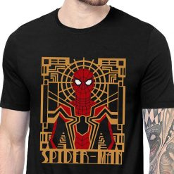 Avengers Infinity War Spiderman Printed T Shirt