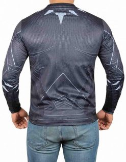 Black Panther Full Sleeves Costume Shirt
