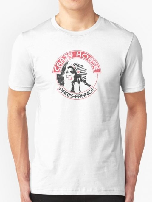 Crazy Horse Paris France T Shirt