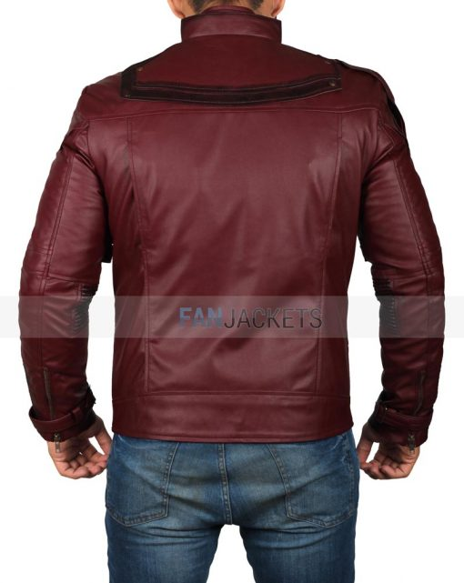 Avengers Infinity War Star Lord Jacket