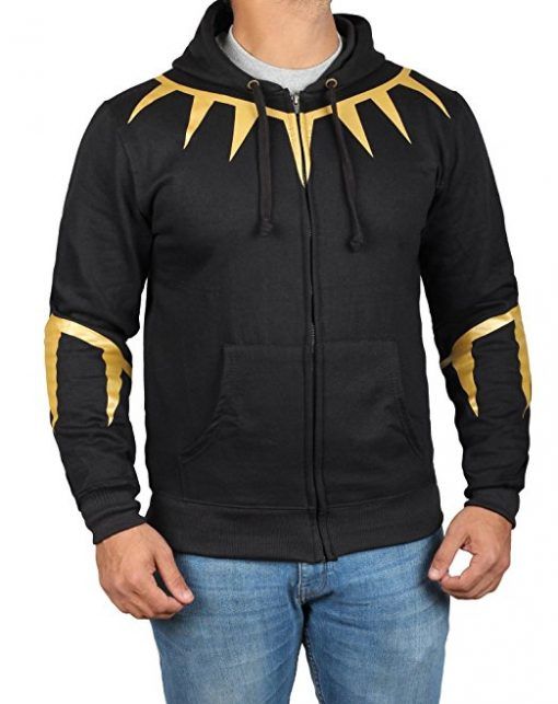 Erik Killmonger Zip Up Hoodie