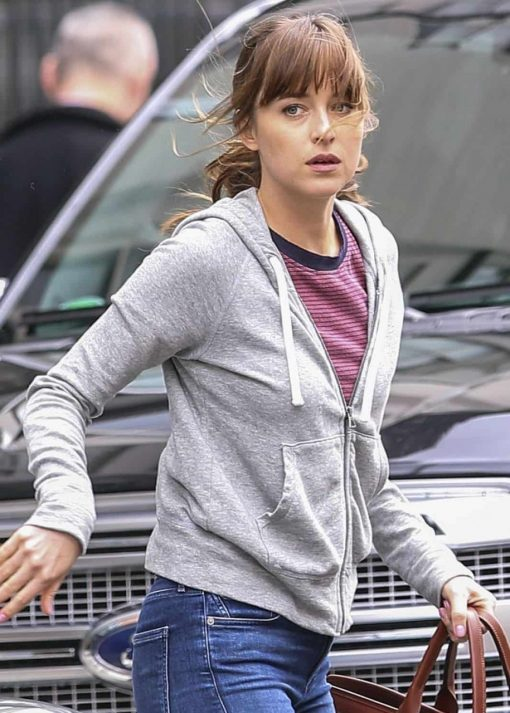 Fifty Shades Dakota Johson Grey Hoodie