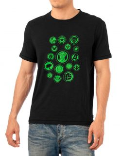 Avengers Team Green Logo Shirt