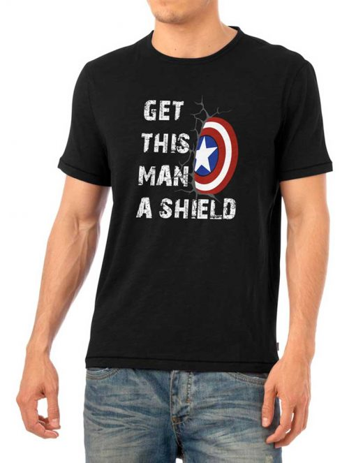 Get This Man A Shield Shirt
