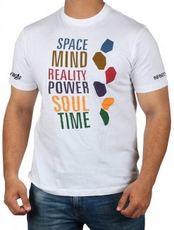 Space Mind Reality Power Soul Time Logo T Shirt