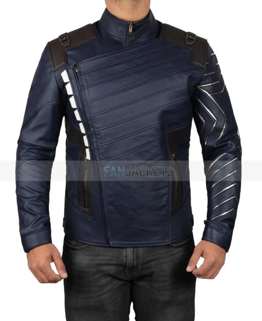 Winter Soldier White Wolf Jacket