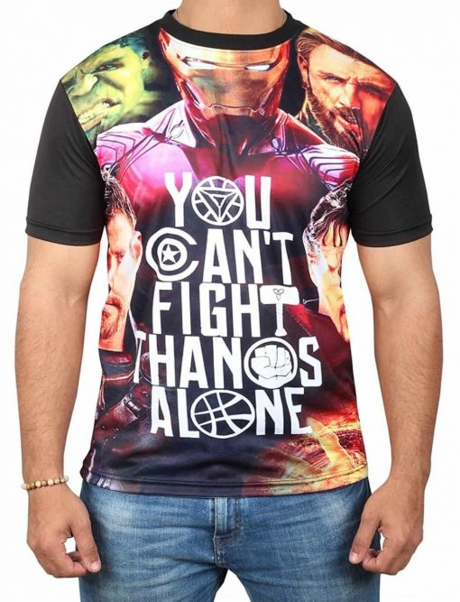 You Cant Fight Thanos Alone T Shirt
