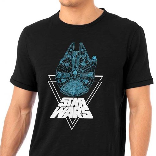 Blue Millennium Falcon Shirt