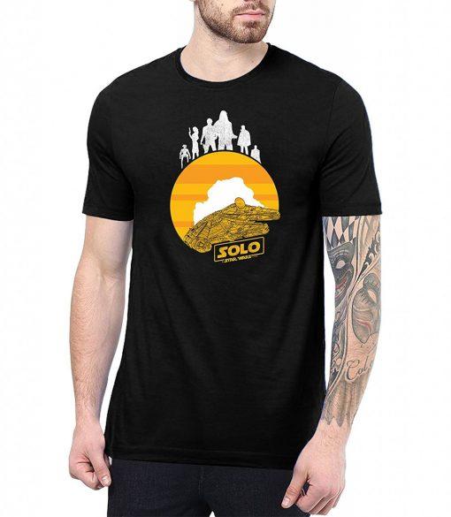 Sun Logo Star Wars Solo T Shirt