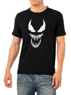 Venom White Face Shirt
