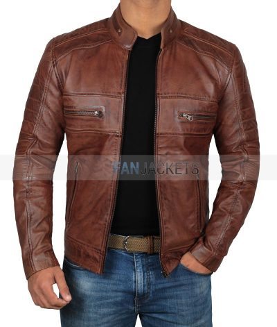 waxed mens leather jackets