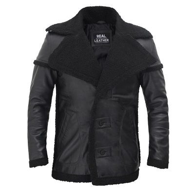real leather shearling jacket