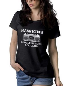 Hawkins Middle School AV Club T Shirt