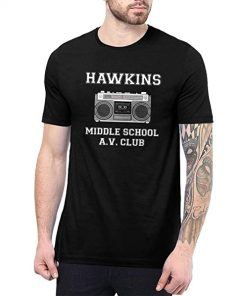 Mens Hawkins Middle School AV Club T Shirt