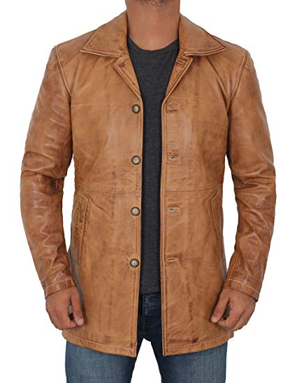 Light Brown Leather Coat