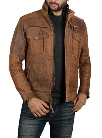 Light Brown Leather Jacket