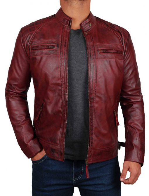Real Lambskin Leather jacket for men