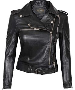 Real Leather Jacket Women